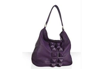 Deux Lux purple bag, $50, at Bluefly.com
