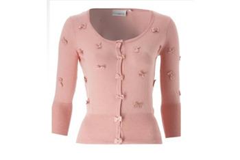 Bow Applique cardigan, $30, at NewLook.com