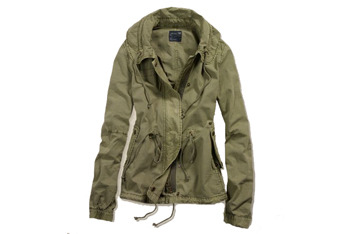 Surplus anorak, $69.50, at American Eagle