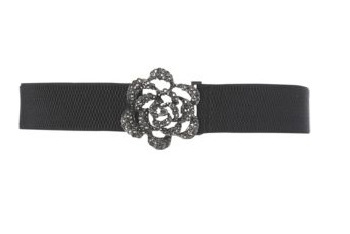 Flora bling stretch belt, $10, at NewLook.com