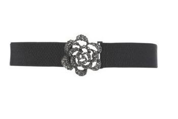 Flora bling stretch belt, $10, at NewLook.com