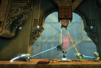 Little Big Planet 2 screenshot creating