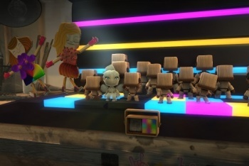 Little Big Planet 2 screenshot making music