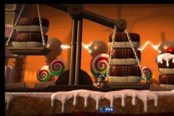 Little Big Planet 2 screenshot food level