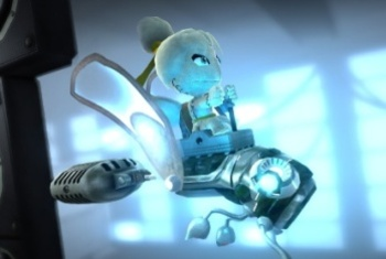 Little Big Planet 2 screenshot robotic ride