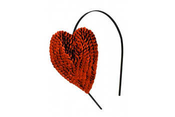 Heart Sequin headband, $15, at RocknRose.co.uk