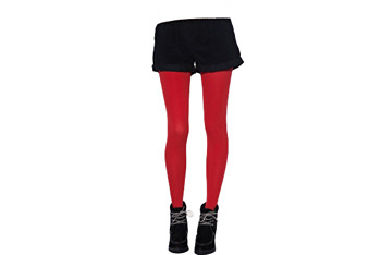 Red tights, $10, at Asos.com