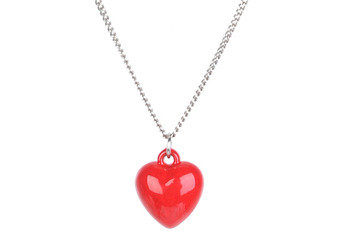 Heart charm necklace, $1.50, at Forever21.com