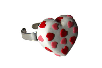 Heart ring, $20, at Punkyallsorts.com