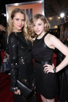 Teresa Palmer and Chloe Moretz at the I Am Number Four premiere