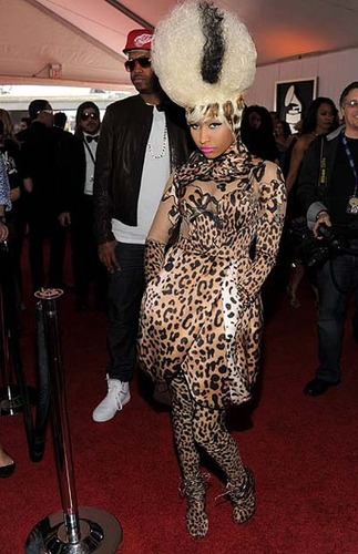Nicki Minaj at the Grammy's
