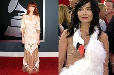 Florence Welch, Bjork at the Grammy's