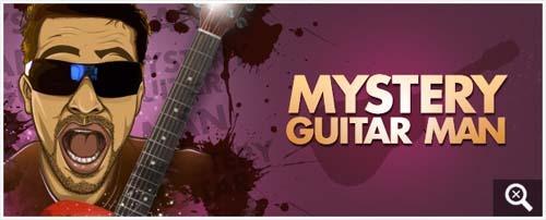 Mystery Guitar Man