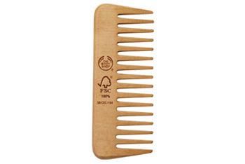 Wooden Detangling Comb