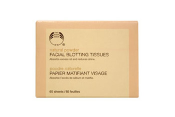 Natural PowderFacial Blotting Tissues