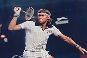 Bjorn Borg and the Bottle