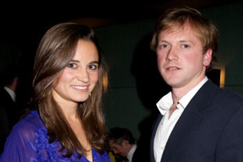Pippa with younger brother James