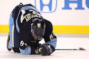 Sidney Crosby down for the count