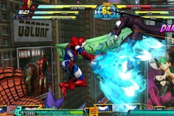 Marvel vs. Capcom 3 screenshot ironman special move