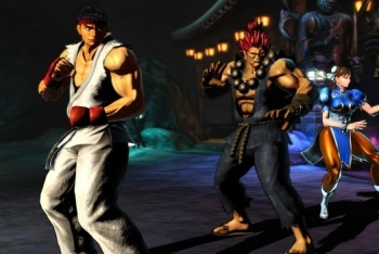 Marvel vs. Capcom 3 screen shot Ryu Chun Li Akuma team