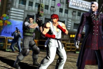 Marvel vs. Capcom 3 screenshot 3v3 team