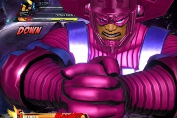 Marvel vs. Capcom 3 screenshot galactus final boss arcade mode