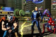 Marvel vs. Capcom 3 screen shot Thor Ironman team