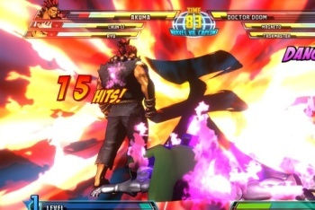 Marvel vs. Capcom 3 screenshot Akuman hyper combo