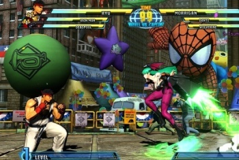 Marvel vs. Capcom 3 screenshot Ryu vs Morrigan