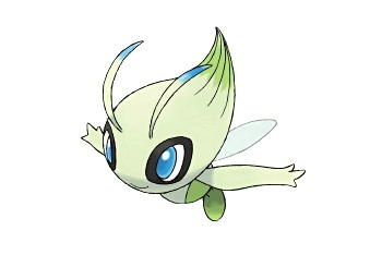 Celebi - photo courtesy of Nintendo