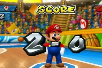 Mario Sports Mix basketball