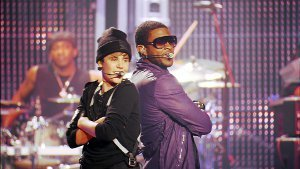 Justin Bieber Back to Back with Usher