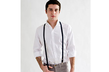 Suspenders, American Apparel, $18