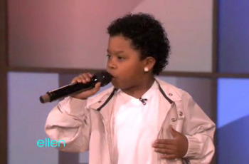 Lil P-Nut Showing Off His Skills On Ellen!