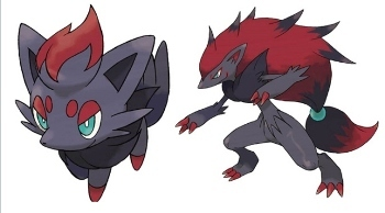 Zoura and Zoroark