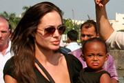 Angelina Jolie and Zahara