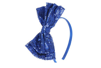 Large sequin bow head band, by Forever 21, $3.80