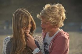 Romantic Scene from Cody's Music Video