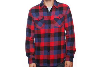 Flannel shirt, $16.99, at Forever 21