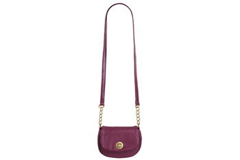 Purple crossbody bag, $15, at Forever 21