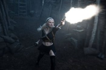 "EMILY BROWNING as Babydoll in Warner Bros. Pictures' and Legendary Pictures' epic action fantasy ""SUCKER PUNCH,"" a Warner Bros. Pictures release."