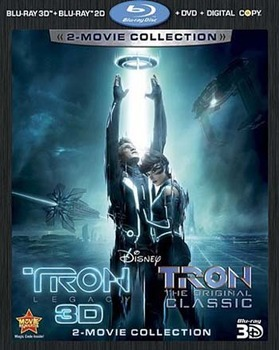 Tron Legacy and Tron the Original Classic