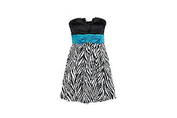 Zebra print dress, $39, at Sears.com