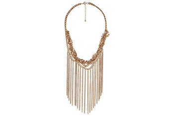 Chain statement necklace, $10.80, at Forever21.com
