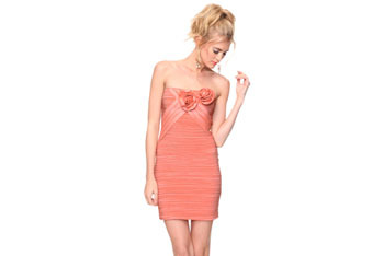 Pleated party dress, $32.80, at Forever21.com