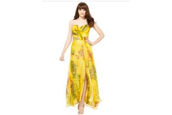 Floral maxi dress, $140, at Macys.com