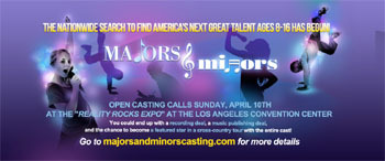 Majors and Minors Casting Call