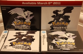 Pokemon Black and Pokemon White
