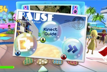 Dance Paradise for the XBox 360 Kinect pause screen