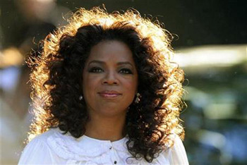 Oprah Winfrey as a role model